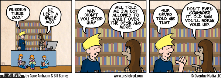 Unshelved strip for 5/20/2013
