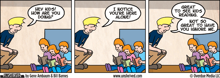 Unshelved strip for 5/21/2013