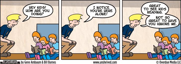 Unshelved comic strip for 5/21/2013