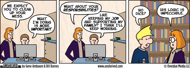 Unshelved comic strip for 5/28/2013