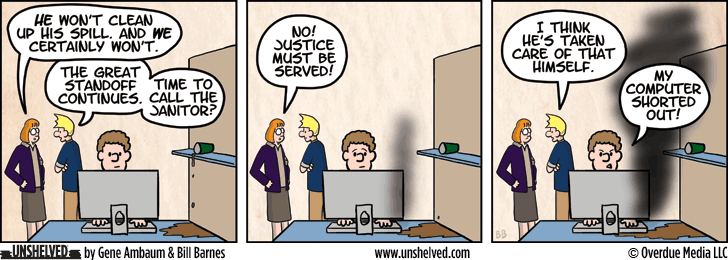 Unshelved comic strip for 5/29/2013