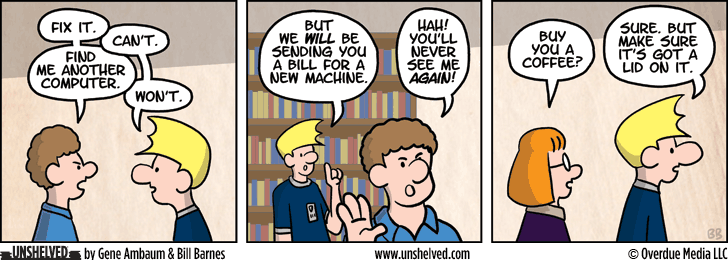Unshelved comic strip for 5/30/2013