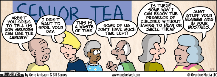 Unshelved comic strip for 6/4/2013