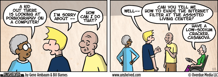 Unshelved comic strip for 6/5/2013