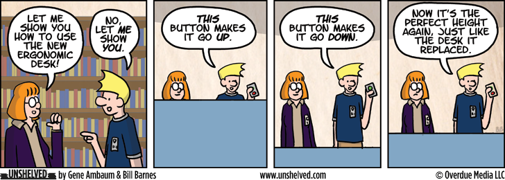 Unshelved comic strip for 6/10/2013