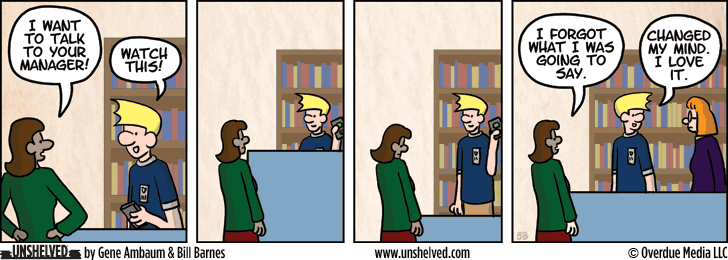 Unshelved strip for 6/11/2013
