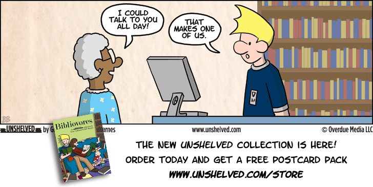 Unshelved comic strip for 6/12/2013