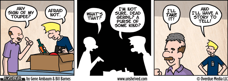Unshelved strip for 6/13/2013