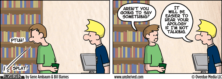 Unshelved strip for 6/18/2013