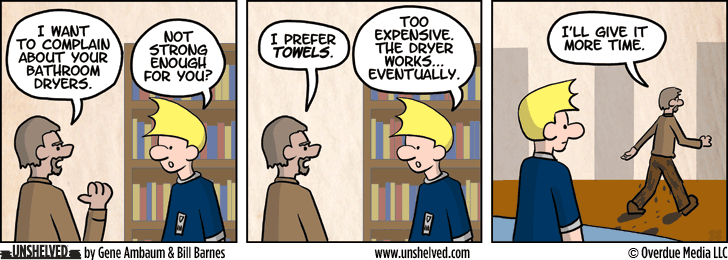 Unshelved strip for 6/19/2013