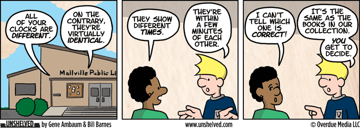 Unshelved comic strip for 6/24/2013