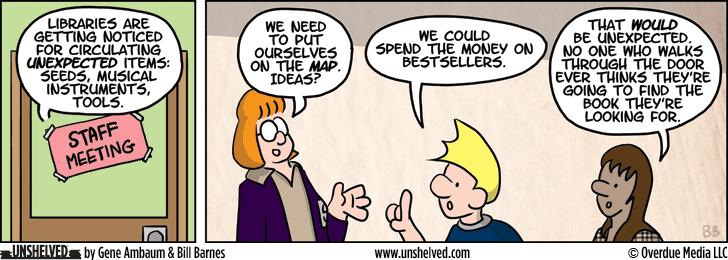 Unshelved comic strip for 7/1/2013