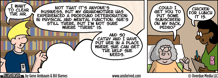 Unshelved comic strip for 7/10/2013