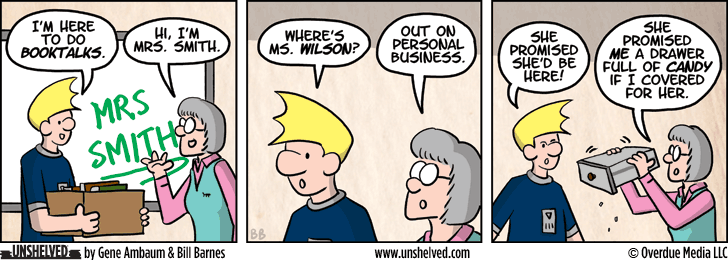 Unshelved comic strip for 7/15/2013