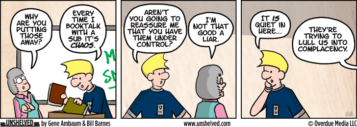 Unshelved comic strip for 7/16/2013