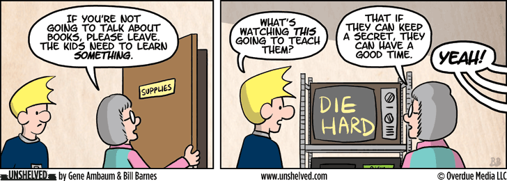 Unshelved comic strip for 7/17/2013