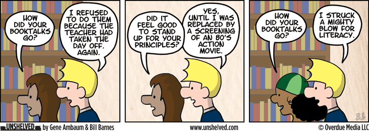 Unshelved comic strip for 7/18/2013