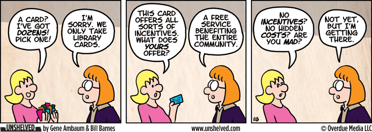 Unshelved comic strip for 7/25/2013