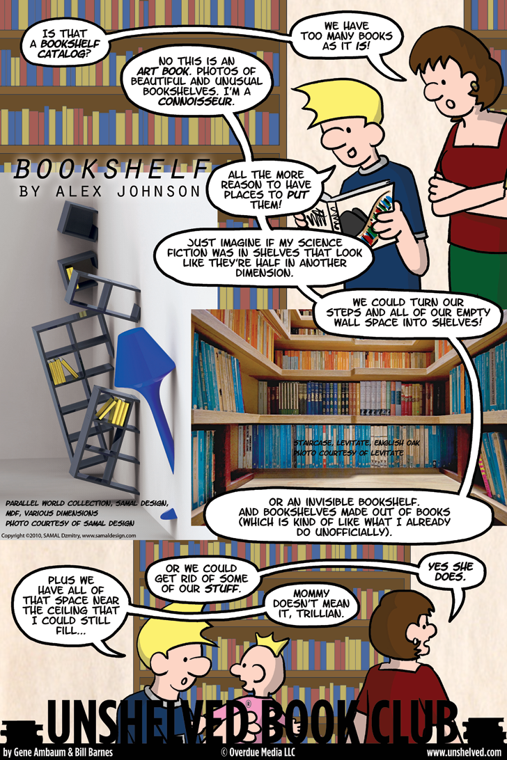 Unshelved comic strip for 7/26/2013