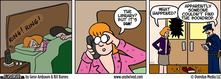 Unshelved comic strip for 7/29/2013
