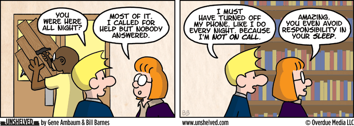 Unshelved comic strip for 8/1/2013