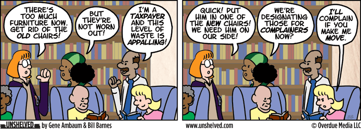 Unshelved comic strip for 8/8/2013