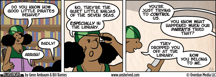 Unshelved comic strip for 8/15/2013