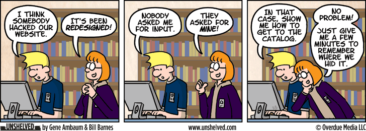 Unshelved comic strip for 8/19/2013