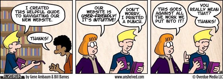 Unshelved comic strip for 8/21/2013