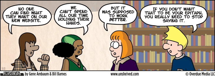 Unshelved comic strip for 8/22/2013
