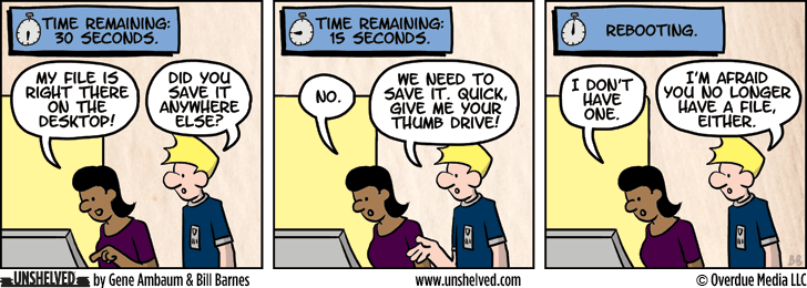 Unshelved comic strip for 9/2/2013