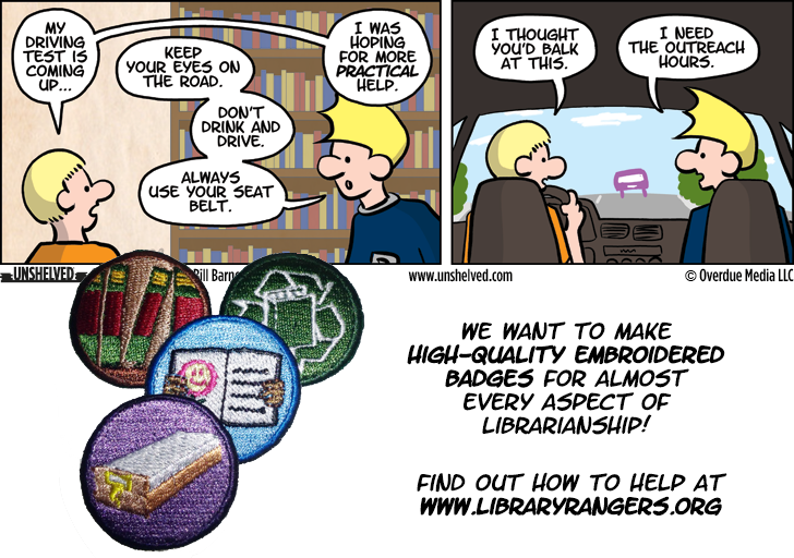 Unshelved comic strip for 9/16/2013