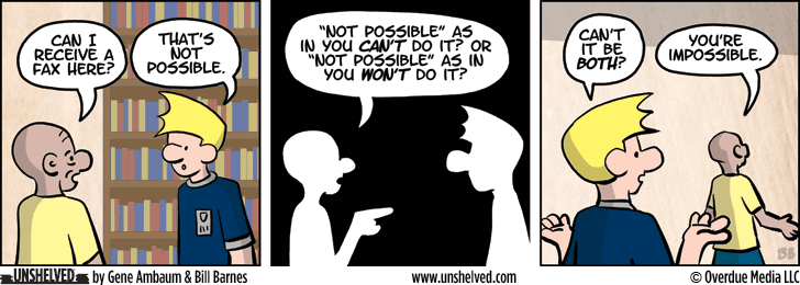 Unshelved strip for 9/17/2013