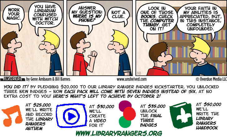 Unshelved comic strip for 9/24/2013