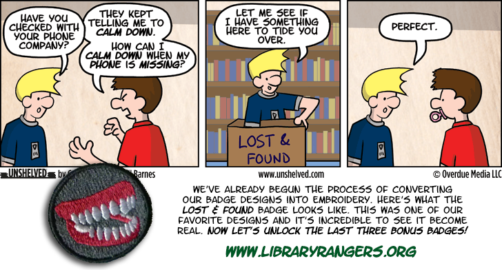 Unshelved strip for 9/25/2013