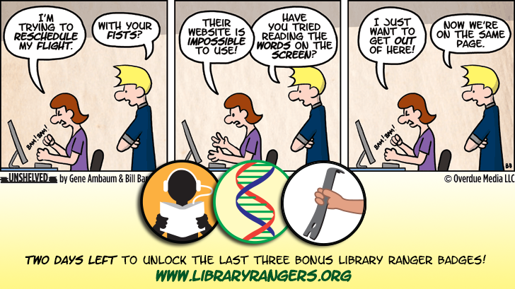 Unshelved strip for 9/30/2013