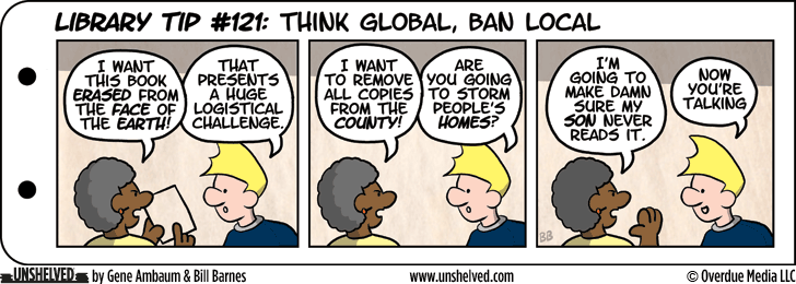 Unshelved comic strip for 10/3/2013