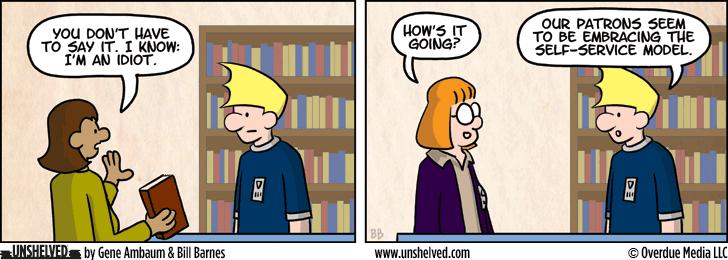 Unshelved comic strip for 10/10/2013