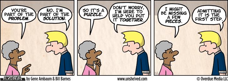 Unshelved comic strip for 10/15/2013