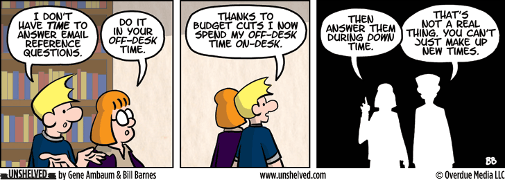 Unshelved comic strip for 10/22/2013