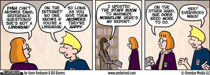 Unshelved comic strip for 10/24/2013
