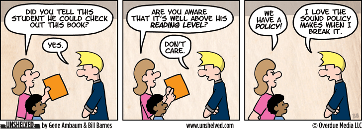 Unshelved comic strip for 10/30/2013