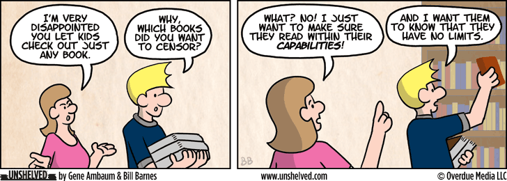 Unshelved comic strip for 10/31/2013