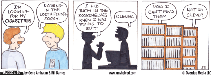 Unshelved strip for 11/4/2013