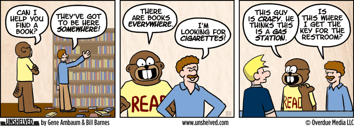Unshelved comic strip for 11/5/2013