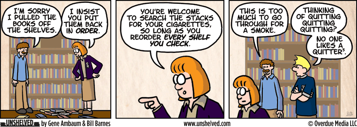 Unshelved comic strip for 11/6/2013