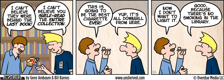 Unshelved comic strip for 11/7/2013