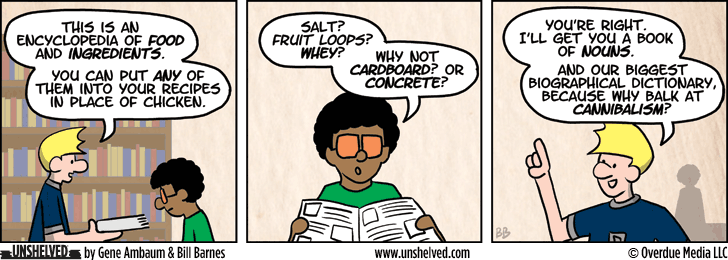 Unshelved comic strip for 11/13/2013