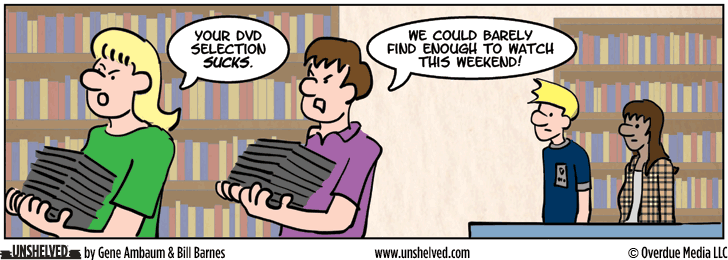 Unshelved strip for 11/26/2013