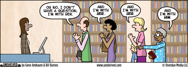 Unshelved comic strip for 11/28/2013